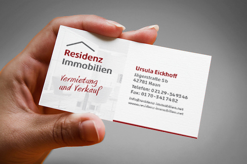residenz immobilien - Corporate Design // Zoom #2