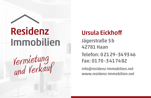 residenz immobilien - Corporate Design // Zoom #3